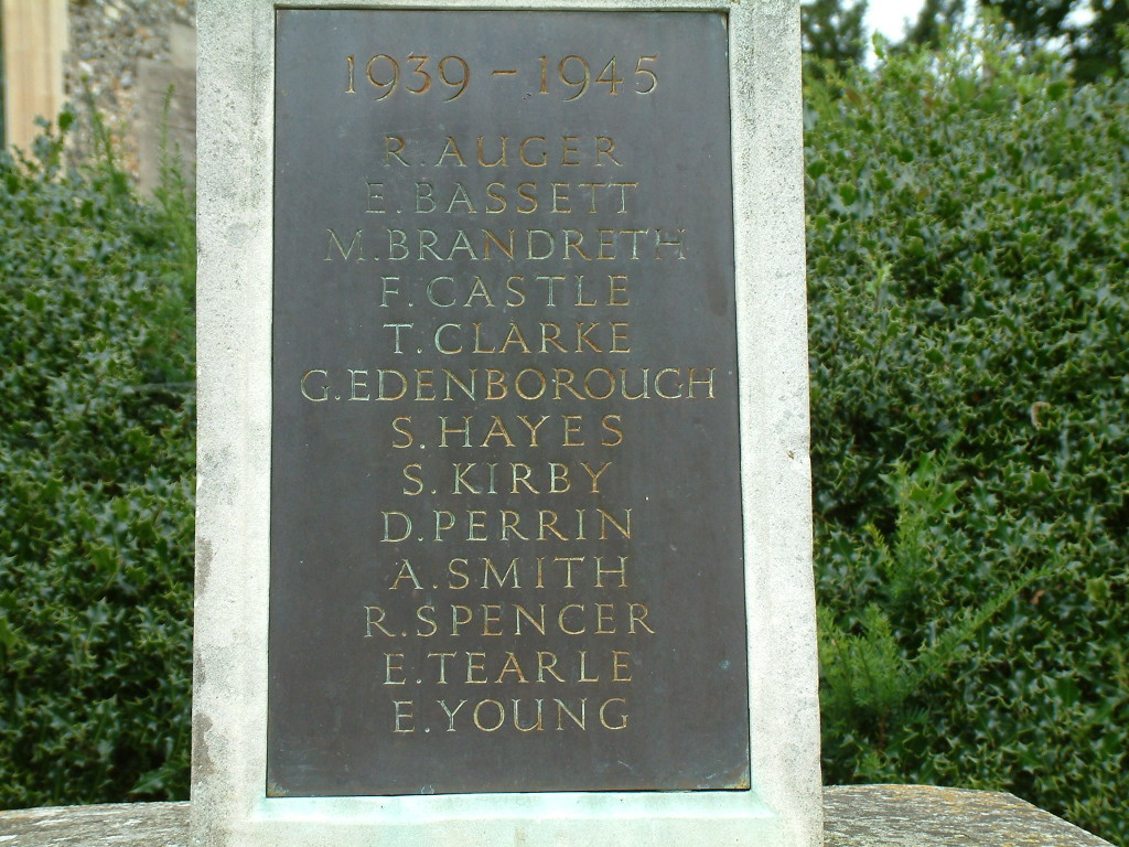 WW2 names Old Welwyn