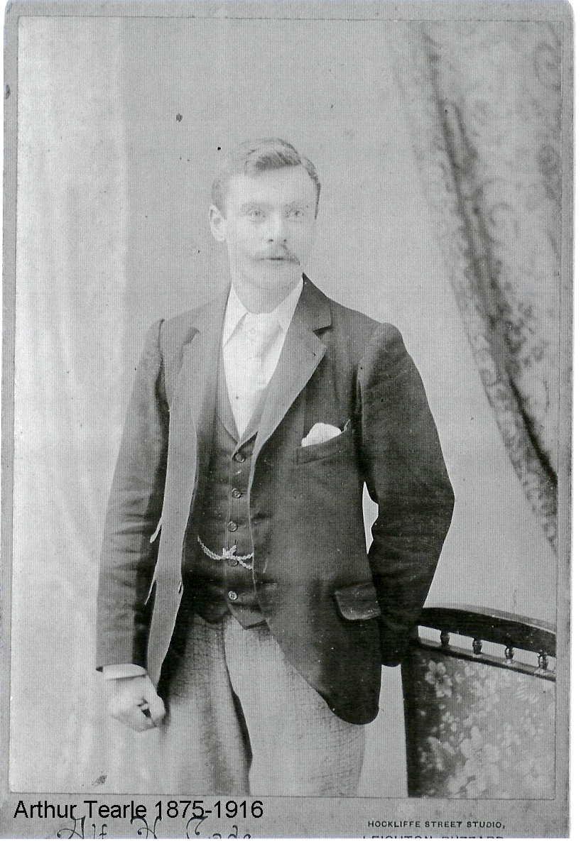 Arthur Tearle b1875, Wing