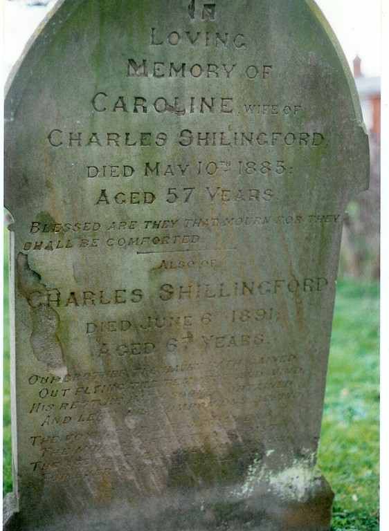 Charles and Caroline Shillingford, Stanbridge