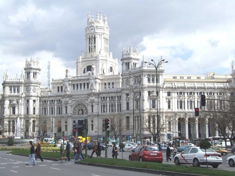 Palacio de Comunicaciones on Plaza de Cibeles