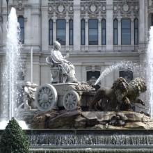 Fuente la Cibeles Madrid