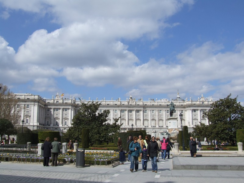 Palacio Real on Plaza de Oriente