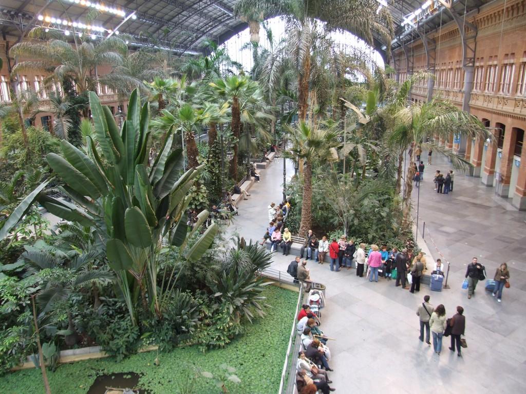 Estacion de Atocha interior