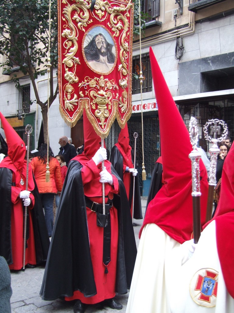 Members of Easter procession