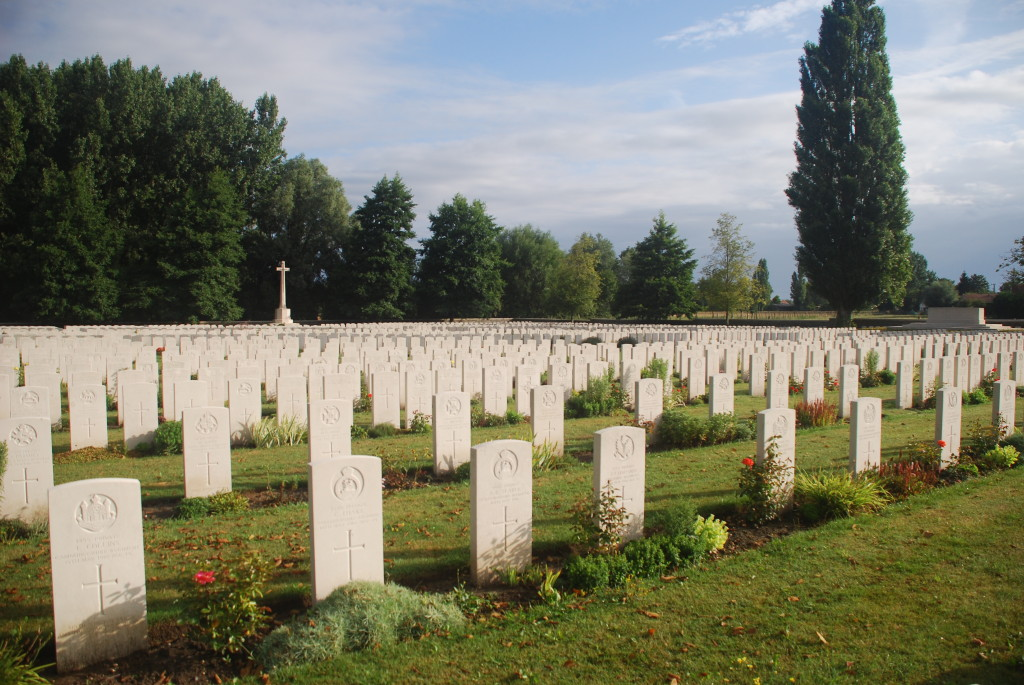 The massed graves of Windy Corner Cuinchy