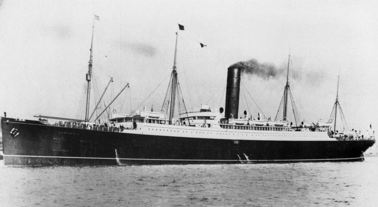 Steam Ship Carpathia