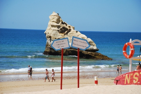 Algarve beach, The Rock