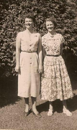 Winnie McNae and Thelma Barnie