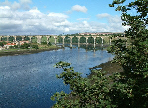 Tweed rail viaduct