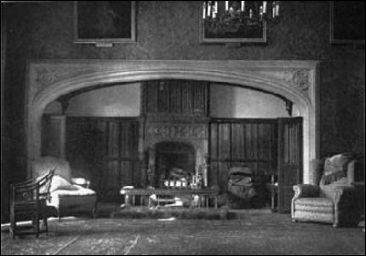 The grand fireplace, Toddington Manor