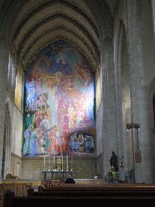 St Albans Holborn interior