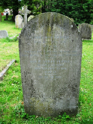 Sarah Tearle headstone, Ivinghoe