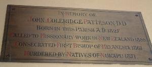 Patteson Memorial