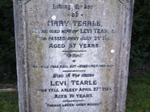 This handsome headstone in Dunstable General Cemetery is to Mary nee Summerfield and Levi 1855.