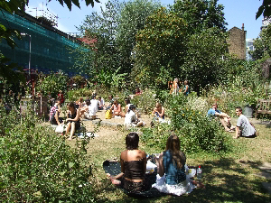 Lunchtime, the Phoenix Garden