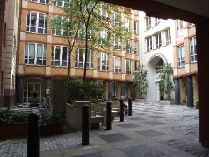 The courtyard, Barnard's Inn