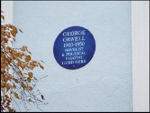George Orwell memorial