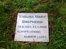 Thelma Mary Shepherd
