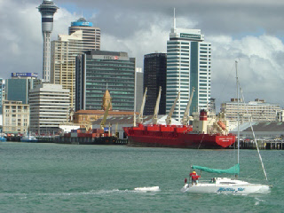 Auckland Harbour from the Devonport Ferry