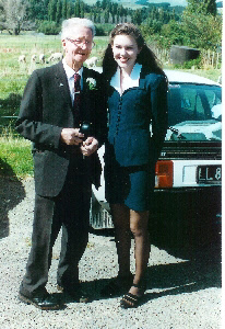 Frank and Genevieve, NZ 1994