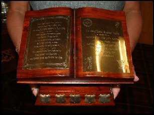 Jason Tearle Memorial trophy
