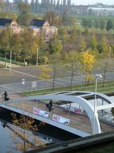Westerpark from Genevieve's flat
