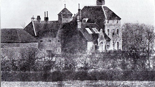 The Manor House, Toddington, about 1860