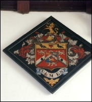 William Dodge Cooper Cooper Hatchment in St George in England Church
