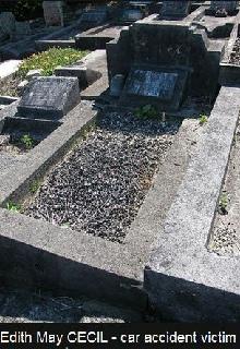 Edith's grave