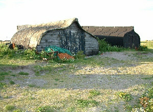 Lindisfarne boat-shed