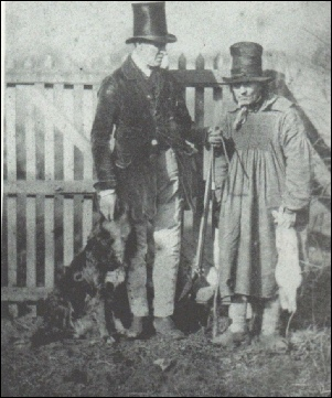 The gamekeeper, Norman Snoxall, and the poacher
