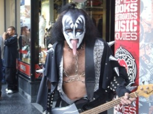 Kiss Impersonator
