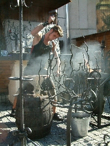 Blacksmith, Staromestske Square
