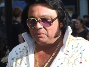 Fat Elvis Impersonator