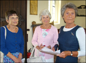 Barbara Ashley, Janette Harrison and Maureen Rigby