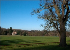 Toddington Manor from the driveway