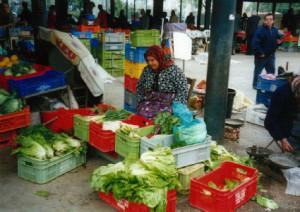 The market, Paphos