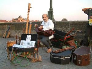 Musician, Charles Bridge