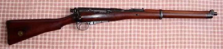 Lee Enfield Cavalry Carbine Mark 1* used in the Anglo Boer War of 1899 to 1902..