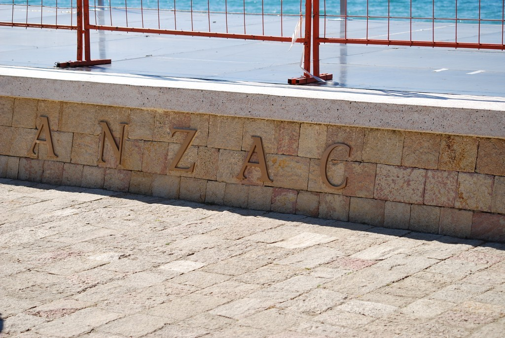 ANZAC Cove is now its official name.