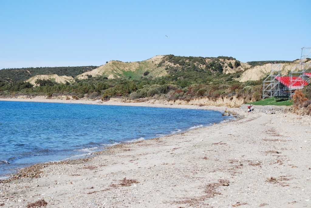 ANZAC Cove and North Beach.