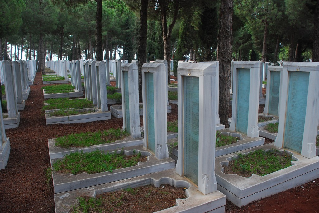 64,000 names of the Turkish National Monument to the Canakkale Campaign.