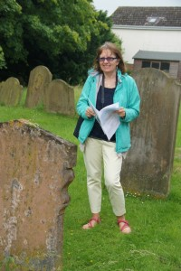 Karen Davies explores the Methodist graves.