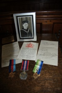 The story of Norman Tearle, and his medals.