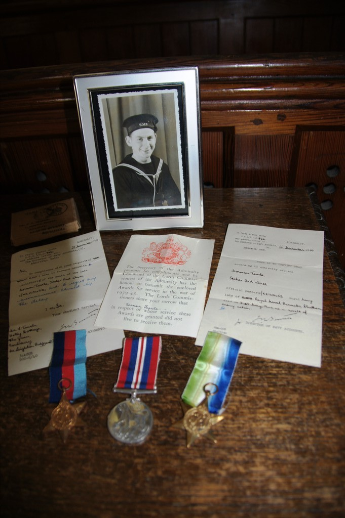 Display in memory of Norman Tearle