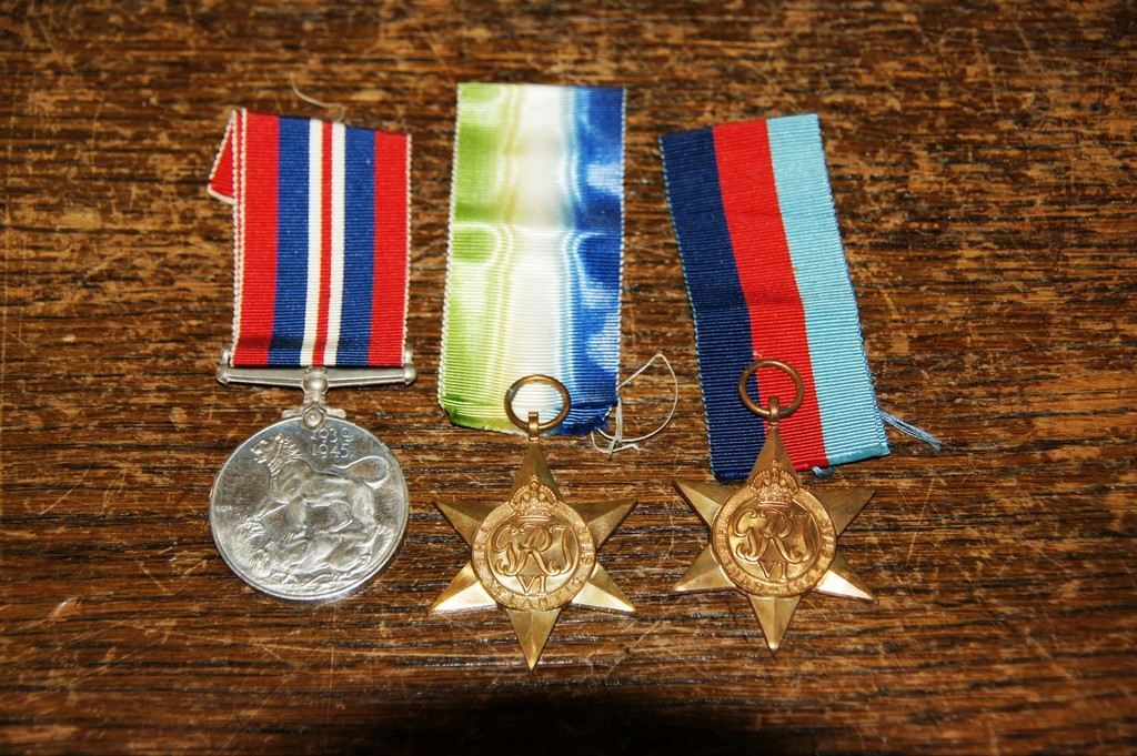 Norman's war medals