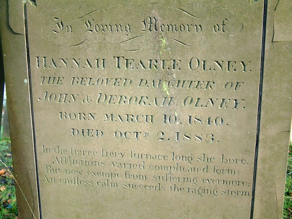 Hannah Tearle Olney