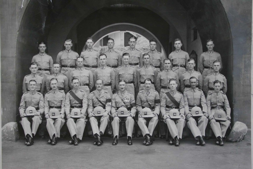 Sons of the Regt 1936 Jeffrey Parkhurst Tearle in Wellington Barracks India