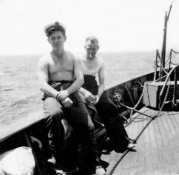 Charles FS (behind) HMS Culver
