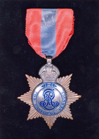 Edgar 1890 Imperial Service Medal